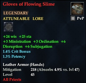Gloves of Flowing Slime