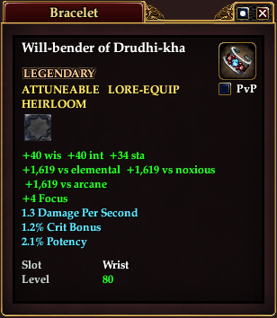 Will-bender of Drudhi-kha (Level 80)