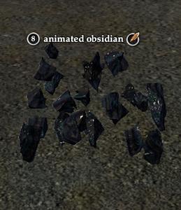 Animated obsidian