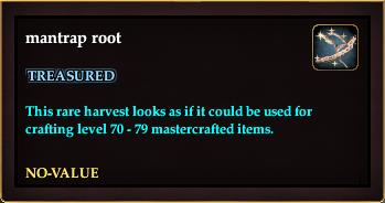 Mantrap root (QuestReward)