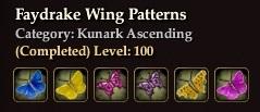 Faydrake Wing Patterns