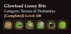 Glowtoad Gooey Bits
