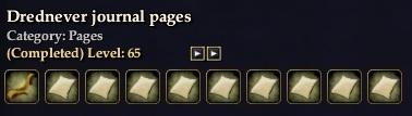 Drednever Journal Pages