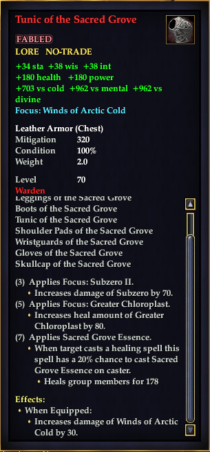 Tunic of the Sacred Grove (Version 1)
