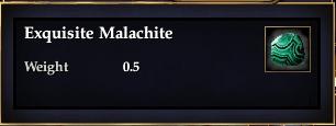 Exquisite Malachite
