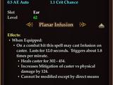 Planar Orb of the Warrior