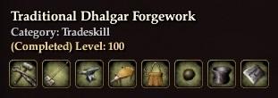 Traditional Dhalgar Forgework