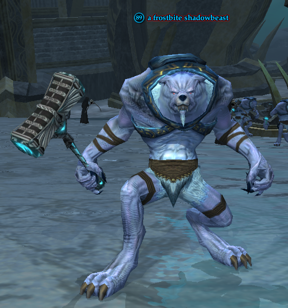 A frostbite shadowbeast