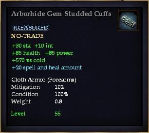 Arborhide Gem Studded Cuffs