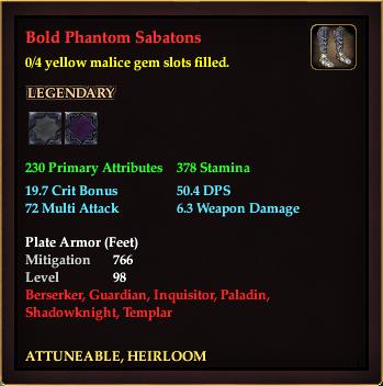 Bold Phantom Sabatons