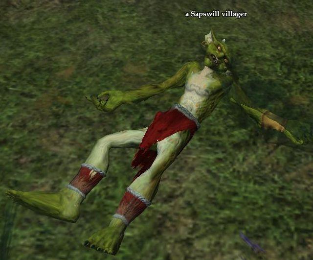 A Sapswill villager