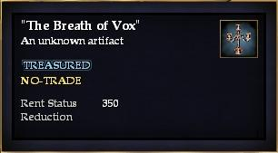 """The Breath of Vox"""