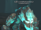 A crystallized guardian
