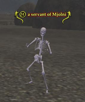 A servant of Mjolni
