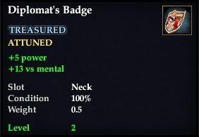 Diplomat's Badge