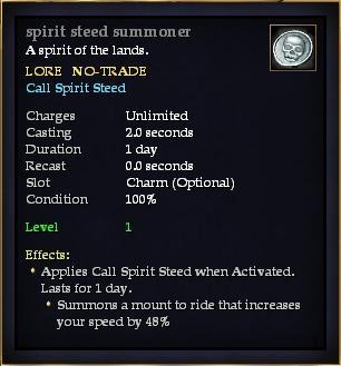 Spirit steed summoner