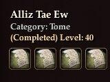 Alliz Tae Ew (Collection)