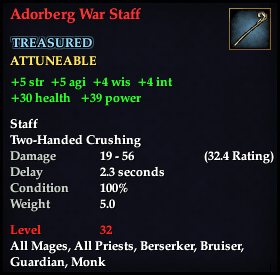 Adorberg War Staff