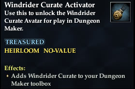 Windrider Curate Activator