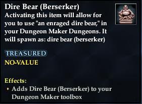 Dire Bear (Berserker)