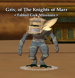 Griv, of The Knights of Marr