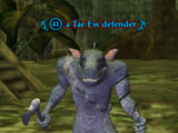 A Tae Ew defender