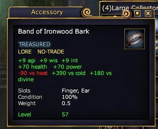 Band of Ironwood Bark