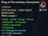 Ring of Devastating Absorption