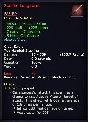Soulfire Longsword (Version 1)