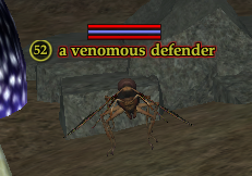 A venomous defender