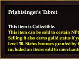 Frightsinger's Tabret
