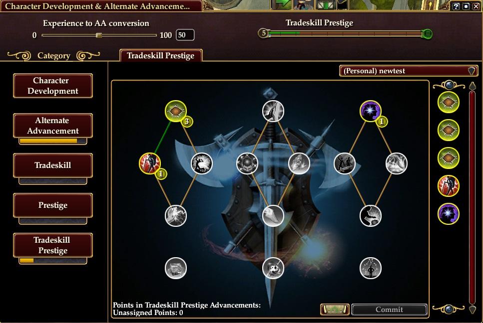 Tradeskill Prestige