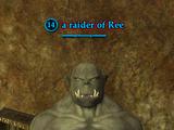 A raider of Ree (Wailing Caves)