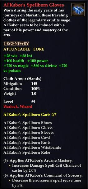 Al'Kabor's Spellborn Gloves (Version 1)