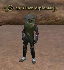 An Ashen diplomat
