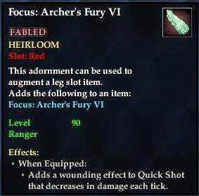 Focus: Archer's Fury VI