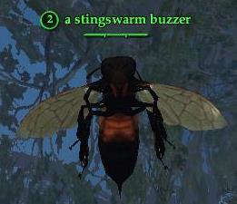 A stingswarm buzzer