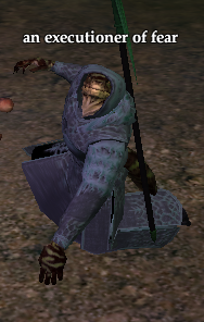 An executioner of fear