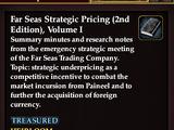 Far Seas Strategic Pricing (2nd Edition), Volume I