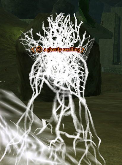 A ghastly seedling