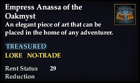 Empress Anassa of the Oakmyst
