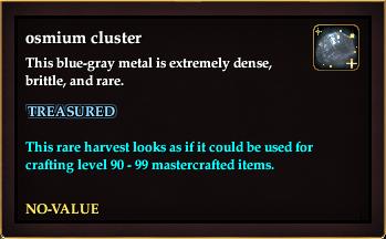 Osmium cluster