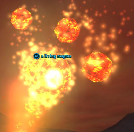 A living magma