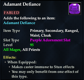 Adamant Defiance (92, purple, Fabled)