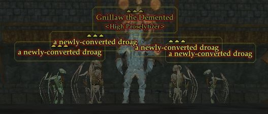 A newly-converted droag