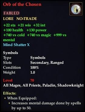 Orb of the Chosen (Version 1)