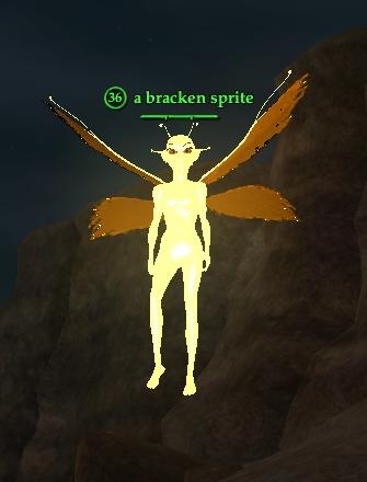 A bracken sprite