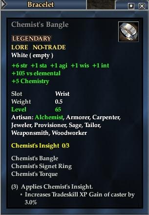 Chemist's Bangle
