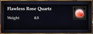 Flawless Rose Quartz