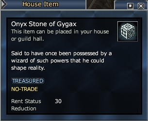 Onyx Stone of Gygax